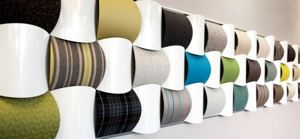 Wool_fabrics_New_Zealand_Inter-weave_woven_wall_display